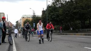 Ciclovía bogotana - Foto: Comunicaciones Alcaldía Bogotá / Camilo Monsalve