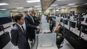 Primera etapa de Centro de Comando, Control, Comunicaciones y Cómputo - Foto: Prensa Alcaldía Mayor / Camilo Monsalve