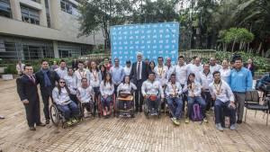 Condecoración deportistas paralímpicos 2016 - Foto: Prensa Alcaldía Mayor / Camilo Monsalve