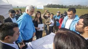 Construcción colegio en Bosa - Foto: Prensa Alcaldía Mayor de Bogotá /Camilo Monsalve