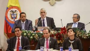 Debate Congreso sobre Metro - Foto: Prensa Alcaldía Mayor de Bogotá / Camilo Monsalve