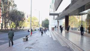Calle 72 después de recuperación de espacio público - Foto: Prensa Secretaría de Gobierno