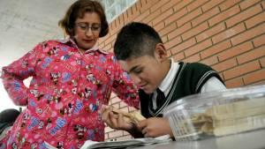 Estudiante con discapacidad - Foto: Secretaría de Educación