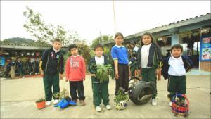 El colegio rural en Usme donde la basura ya no se quema