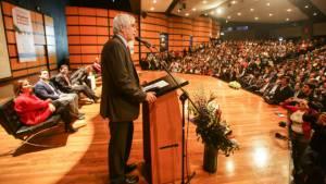 Alcalde Peñalosa en la feria de vivienda - Foto: Prensa Alcaldía Mayor de Bogotá / Camilo Monsalve