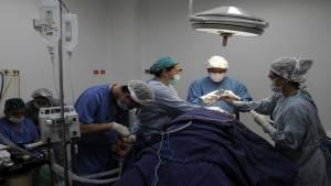 Sala de cirugía - Foto: Diego Bautista