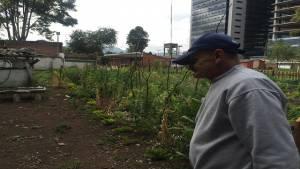 Adulto Mayor Bosque Popular - Foto: Laura Cuevas
