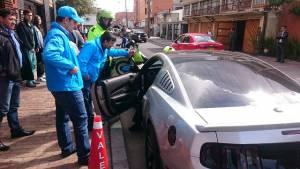 Operativos contra mal parqueados zona G -  Foto: Prensa Secretaría de Movilidad
