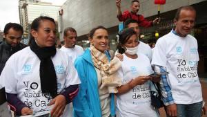 Campaña ayudemos de verdad - Foto: Prensa Secretaría de Integración Social