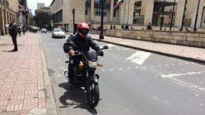 Motociclista  - Foto: bogota.gov.co