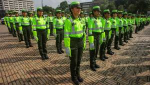 Policía de Tránsito en Bogotá se refuerza con 600 uniformadas