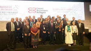 Cumbre Nobel de Paz - Foto: Prensa Alcaldía Mayor