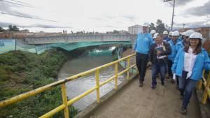 Recorrido de obras de movilidad en Bosa - Foto: Prensa Alcaldía Mayor/ Camilo Monsalve