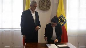 Posesión directora de IDARTES - Foto:Prensa Alcaldía Mayor / Camilo Monsalve