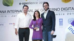 Premiación Bogotá Abierta - Foto: Prensa Consejería TIC