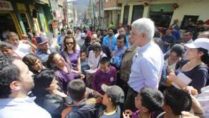 Recorrido Alcalde localidad de Usme - Foto: Prensa Alcaldía Mayor / Camilo Monsalve