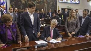 Sanción Plan de Desarrollo - Foto: Prensa Alcaldía Mayor de Bogotá