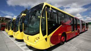Buses de Transmilenio - Foto: Prensa Alcaldía Mayor de Bogotá / Diego Bautista