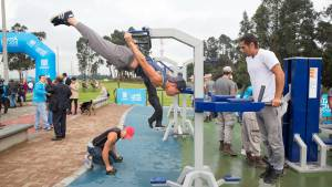'Parque para todos', la estrategia para transformar 110 parques de la ciudad. Foto: Andrés Sandoval - Alcaldía de Bogotá