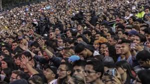Indicaciones para disfrutar del concierto de U2. Foto: Alcaldía Mayor