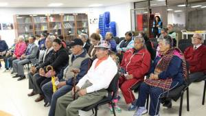 Adultos mayores en Bogotá - Foto: Prensa Integración Social
