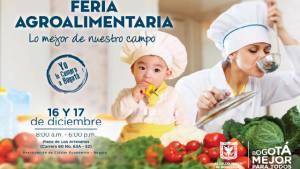 Afiche Feria Agroalimentaria