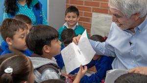 Avanza entrega de colegios en Bogotá - Foto: Comunicaciones Alcaldía Bogotá / Andrés Sandoval