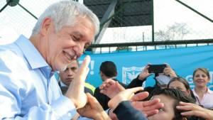 Alcalde entrega obras en Puente Aranda - FOTO: Consejería de Comunicaciones