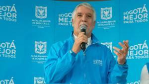 El alcalde reiteró el apoyo de su Administración a la población venezolana en Bogotá - Foto: Alcaldía Bogotá