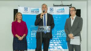 Estamos a 'centímetros' de tener el Metro para Bogotá: alcalde Peñalosa - FOTO: Consejería de Comunicaciones.