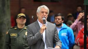 Alcalde Peñalosa - FOTO: Prensa Consejería de Comunicaciones