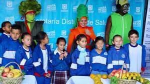 Alimentación saludable en los colegios - Foto: Prensa Secretaría de Educación
