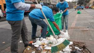 El nuevo proceso licitatorio permitirá una ciudad más limpia - Foto: Alcaldía de Bogotá
