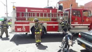 Atención bomberos Bogotá - Foto: Comunicaciones Bomberos