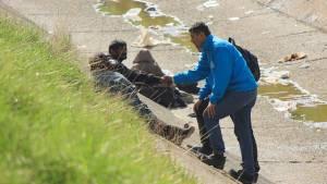 Atención habitantes de calle en sector de la Sexta con Carrera 30 - Foto: Prensa Secretaría de Integración Social