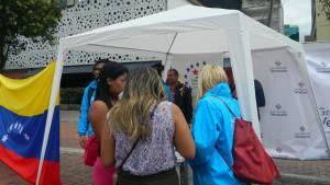 Así atiende el Distrito a los venezolanos en Bogotá - Foto: Secretaría de Gobierno