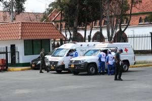 Atentado Escuela General Santander - FOTO: Consejería de Comunicaciones
