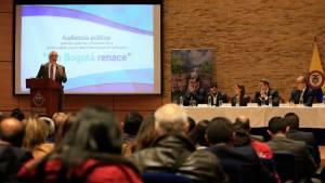 """Audiencia """"Río Bogotá renace"""" - Foto: Alcaldía Mayor de Bogotá/Diego Baumán"""