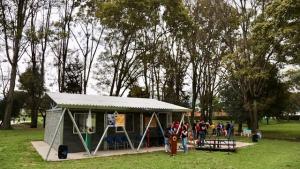 Aula verde del colegio Francisco José de Caldas - Foto: Comunicaciones Secretaría de Educación