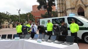 Bandas delincuenciales - FOTO: Prensa Mebog