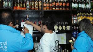 Control a bares - Foto: Secretaría de Hacienda