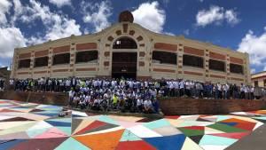 Plaza Las Cruces en la localidad de Santa Fe - Foto: IDPC