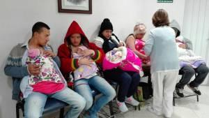 Más de 1.000 bebés prematuros son parte del programa 'Canguro'.
