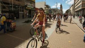 'Biciturismo', la nueva apuesta de Bogotá. Foto: IDT.