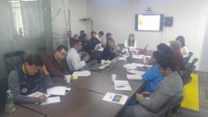 Bomberos de Bogotá se capacitan para certificación INSARAG. Foto: Prensa Bomberos