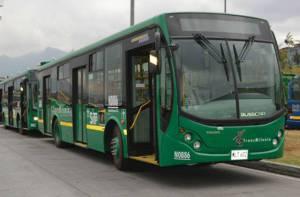 Buses Alimentadores. Foto: TransMilenio