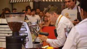 Exhibición de barismo - Foto: Café de Colombia