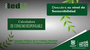 Alcaldía Peñalosa lanza 'Calculadoa de Consumo Responsable'