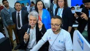 Listo Call Center para solicitar citas médicas - Foto: Comunicaciones Alcaldía Bogotá / Diego Bauman