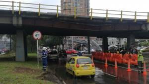 Puente vehicular de la calle 116 con Autopista Norte - Foto: Comunicaciones IDU